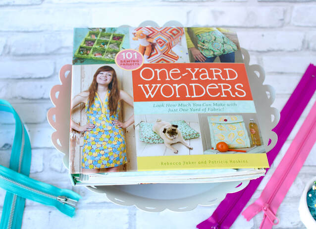 What can I sew with one yard of fabric? DIY sewing book