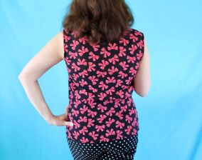 I make patterns from Gertie's book, Gertie Sews Vintage Casual