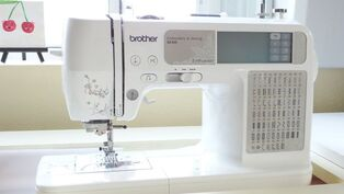 Brother sewing machine, I love my machine and when she dies, I'll be getting another Brother
