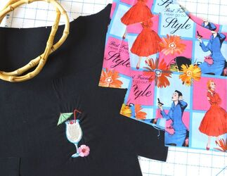 Sewing for vacation Sewing to the Moon blog. Vacation purse