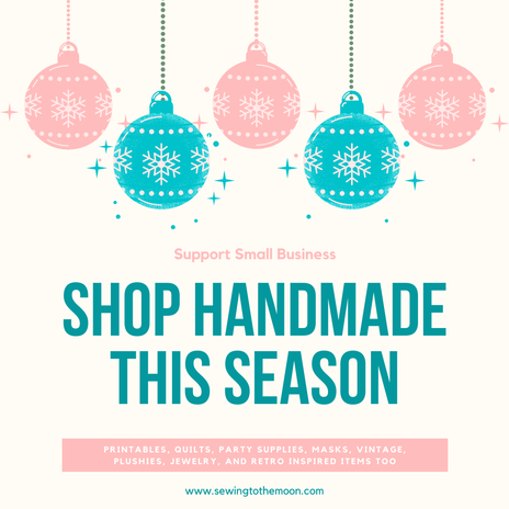 Support small business and shop women owned handmade businesses